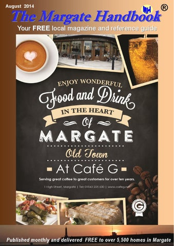 August Front Cover of Margate Handbook