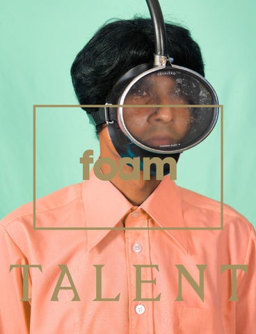 PREVIEW Foam Magazine Talent Issue 2014 cover