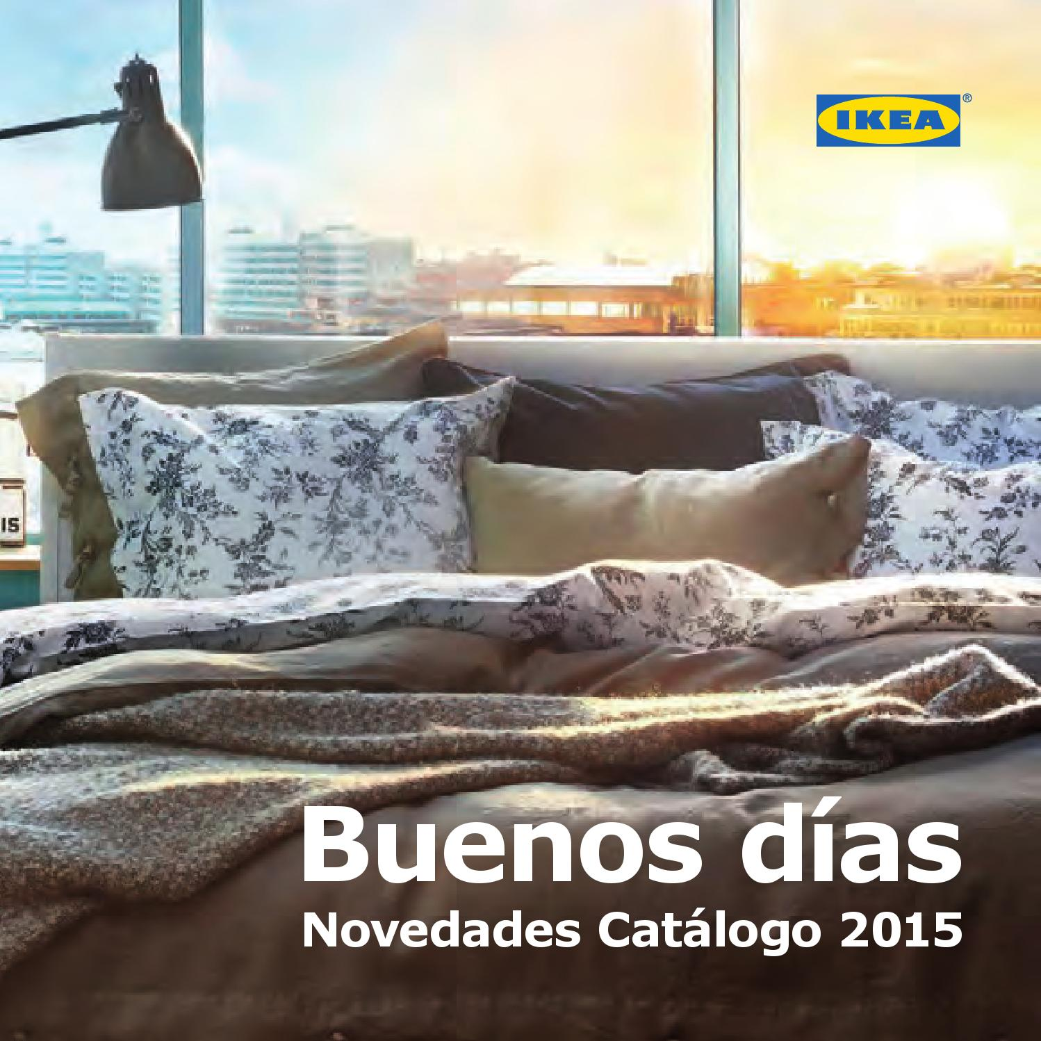 Catalogo ikea novedades 2015 by losdescuentos for Catalogo jardin ikea 2015