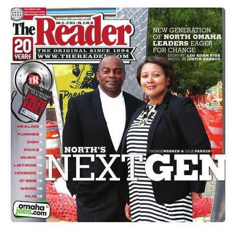 The Reader Aug. 21-28, 2014