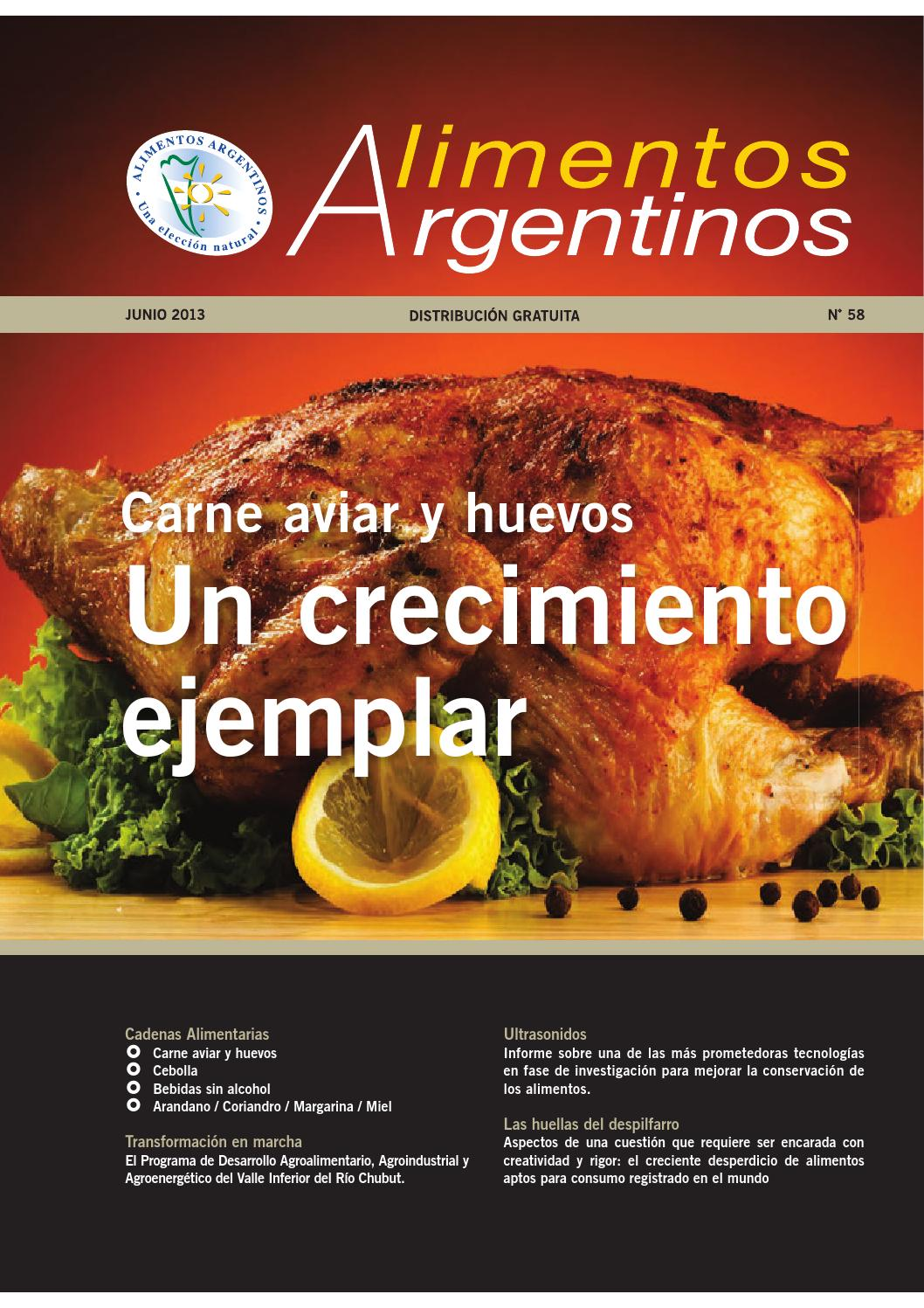 Issuu revista alimentos argentinos n 58 by alimentos for Revistas del espectaculo argentino