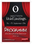 Program Kleinkunsttage 2014