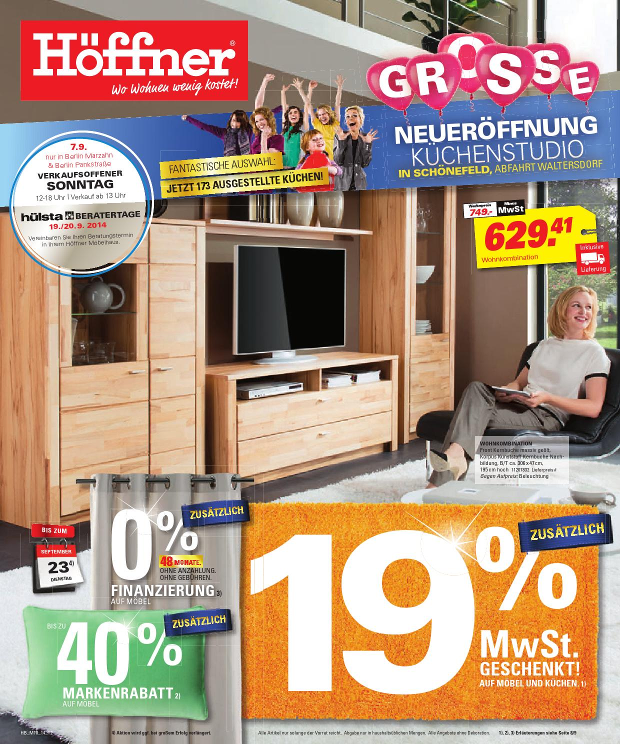 issuu h ffner gro e neuer ffnung by berlin medien gmbh. Black Bedroom Furniture Sets. Home Design Ideas