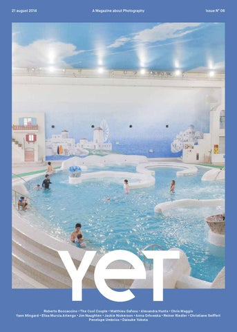 YET magazine issue #6 cover