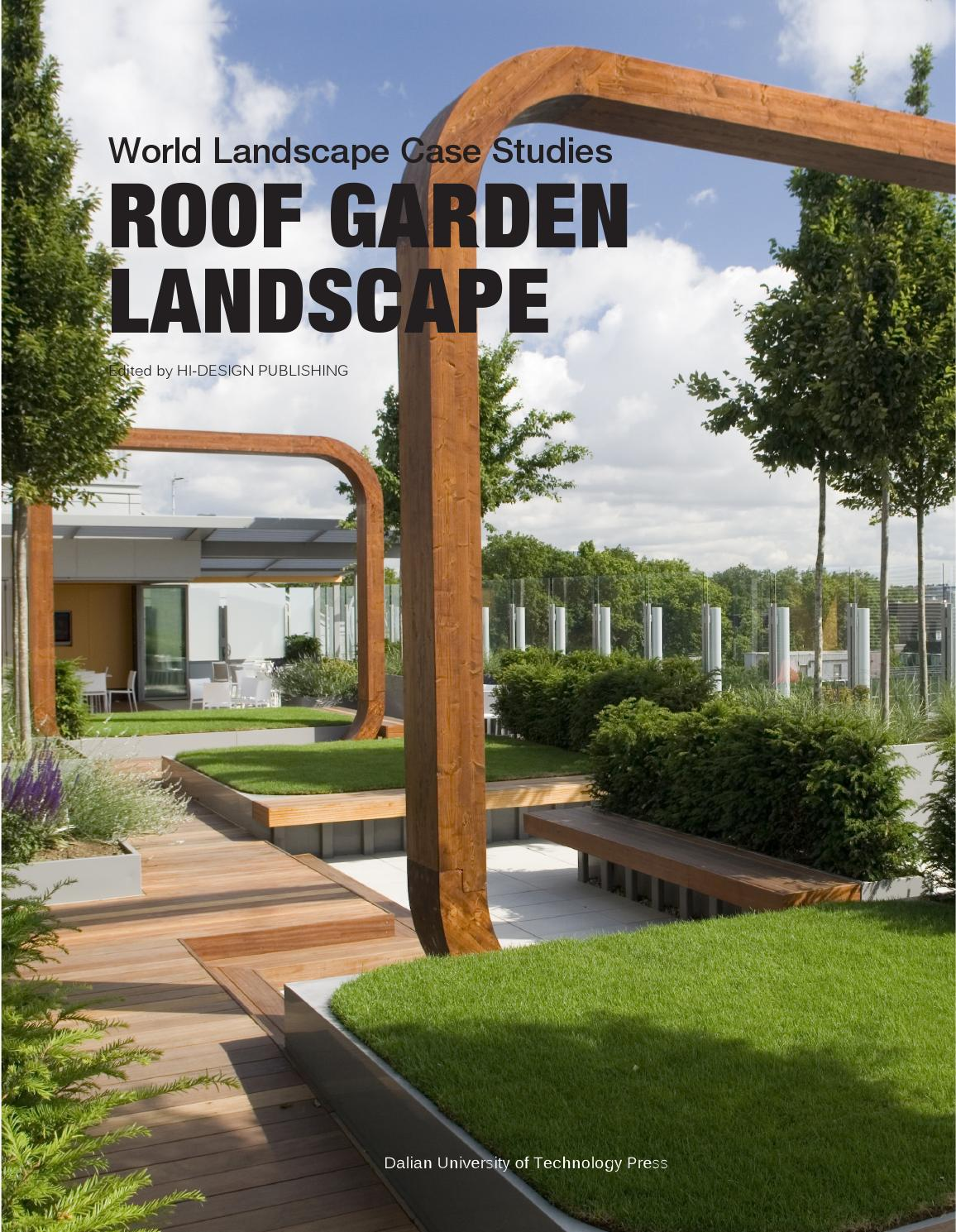 Issuu roof garden landscape world landscape case for Rooftop landscape design