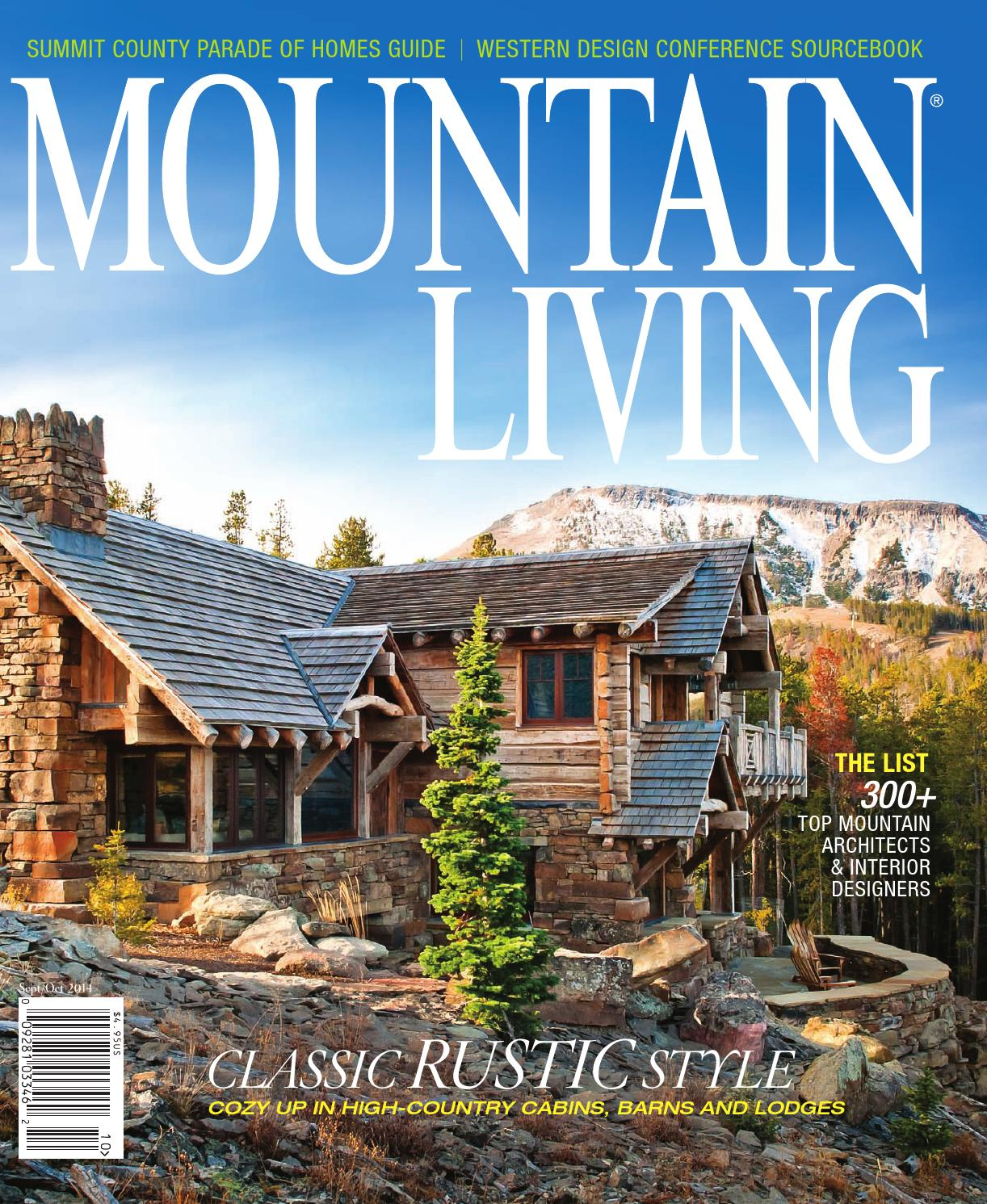 Issuu mountain living september october 2014 by network for Mountain living