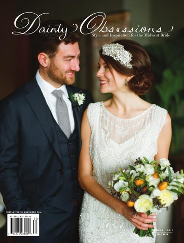 Dainty Obsessions v.3 | no.1 Wedding Magazine cover