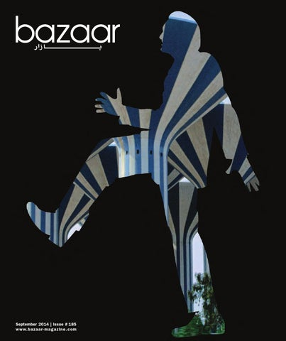 bazaar September 2014 cover