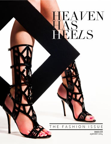 Heaven Has Heels Fall Fashion Issue cover