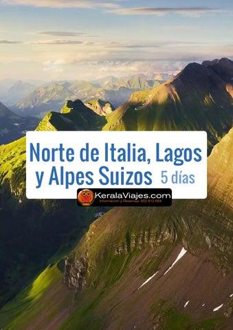 Mayoristas de Viajes Circuito Norte de Italia, Lagos y Alpes Suizos