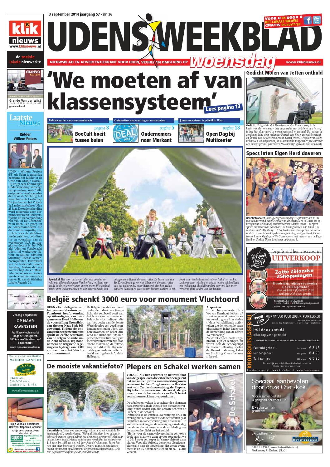 ISSUU - Udens Weekblad week 36 2014 by De Winter media groep: issuu.com/ideemagazine/docs/uwb_week_36_2014