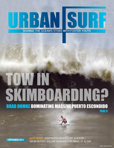 Urban Surf 4 Kids September Magazine cover