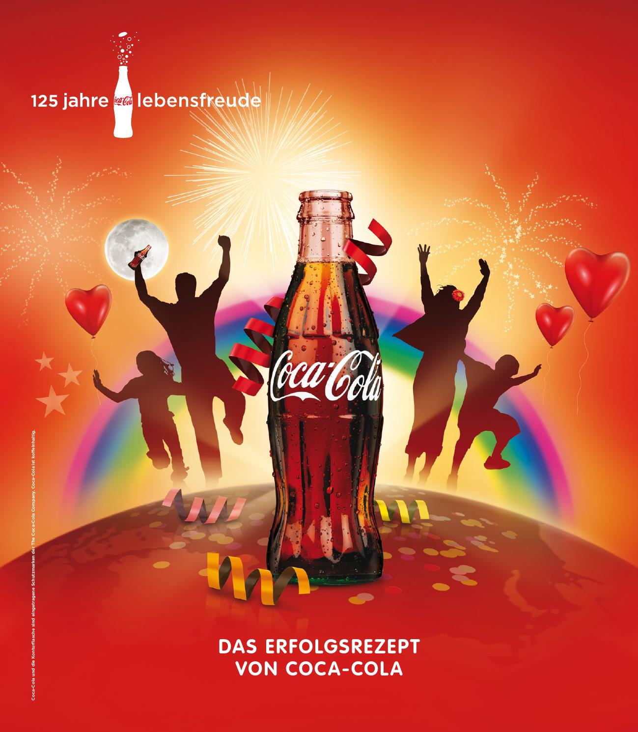 coca cola 125 jahre magazin editorial design by marco schroller. Black Bedroom Furniture Sets. Home Design Ideas