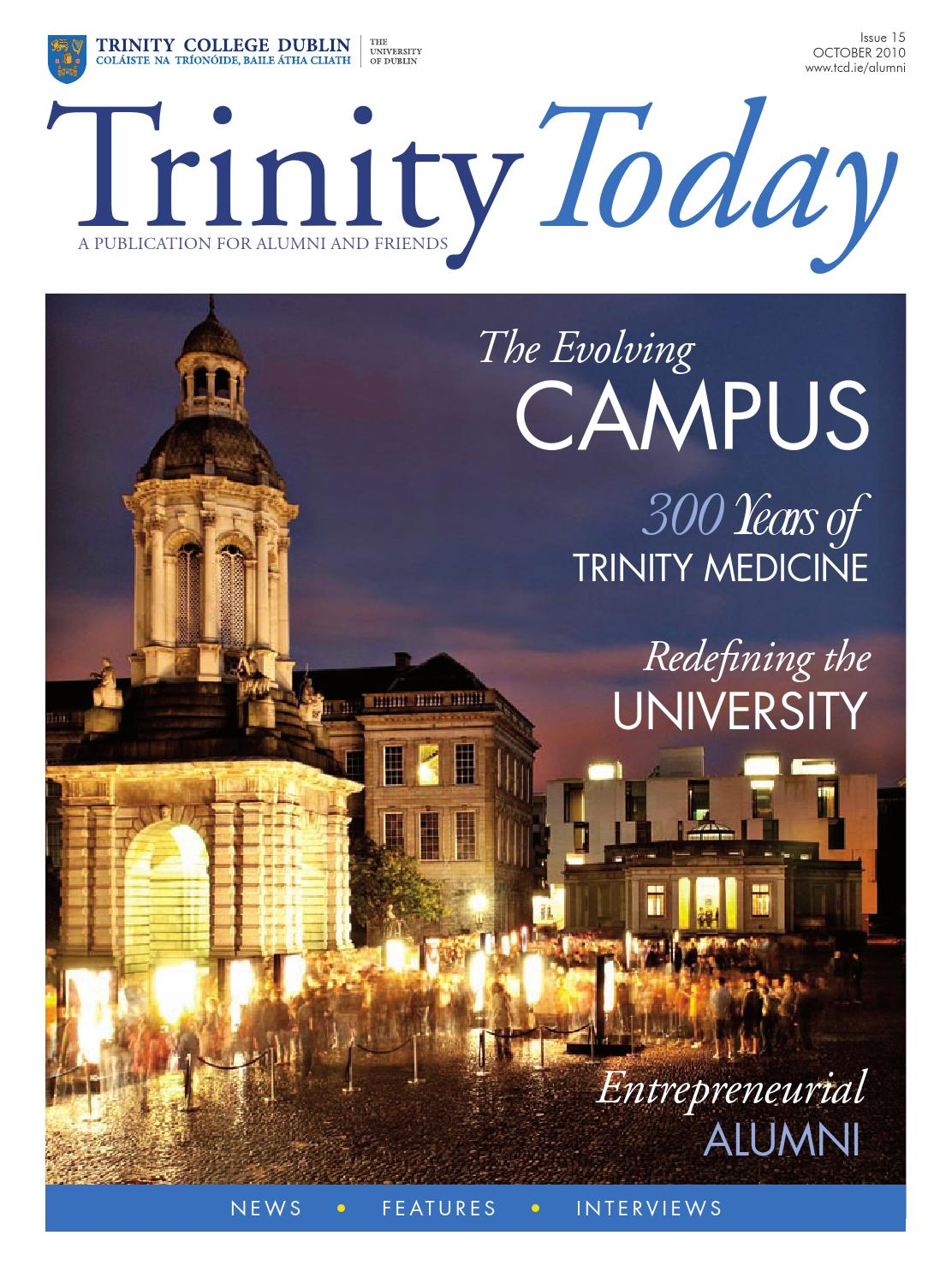 trinity college thesis online