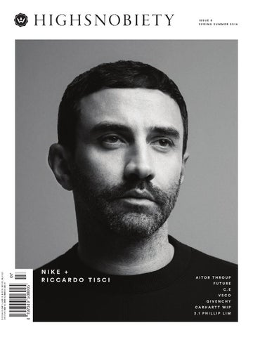 HIGHSNOBIETY MAGAZINE 08 Winter 2014 cover