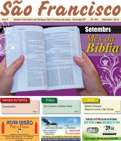 [Boletim Informativo – Nº 144 – Setembro/2014]