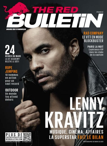The Red Bulletin Octobre 2014 - FR cover