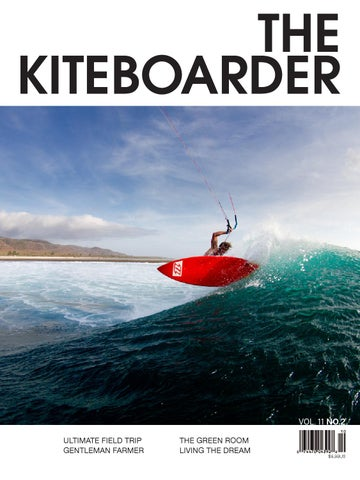 The Kiteboarder Magazine Vol. 11, No. 2 cover