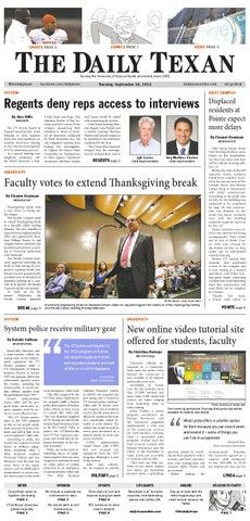Issue for September 16, 2014