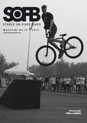 Stoked On Fixed Bikes Issue 18 cover