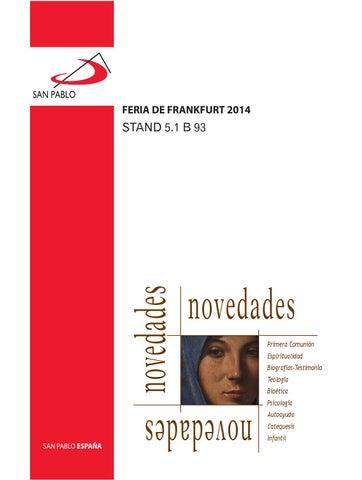 Catálogo para la Feria de Frankfurt 2014