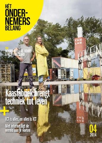 Het Ondernemersbelang Noord Holland Noord 4-2014