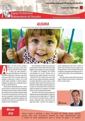 Boletim Informativo do dia 03 de agosto