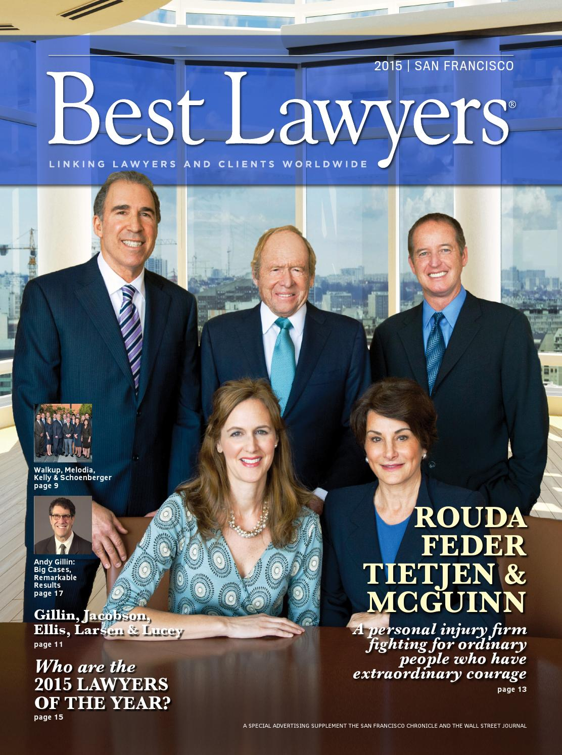 Best Lawyers In San Francisco 2015 By Best Lawyers Issuu
