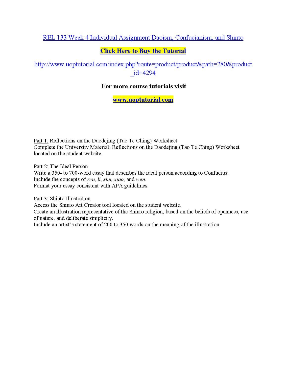 rel 133 week 3 buddhism worksheet Buddhism worksheet rel/133 version 3 1 university of phoenix material buddhism worksheet write a 1- to 2-paragraph response for each of the  week 3 buddhism essay.