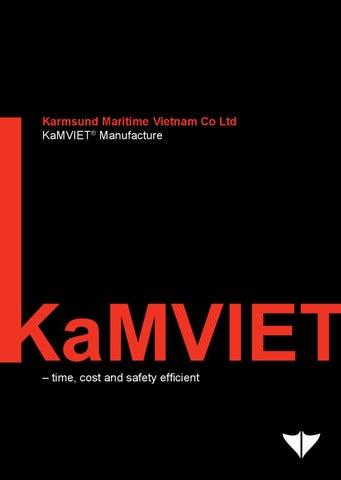 4 – KaMVIET® Manufacture - Brochures