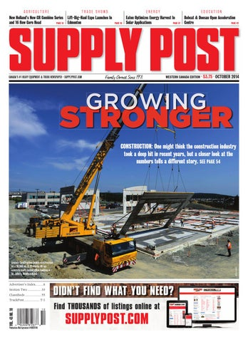 Supply Post Western Cover - October 2014