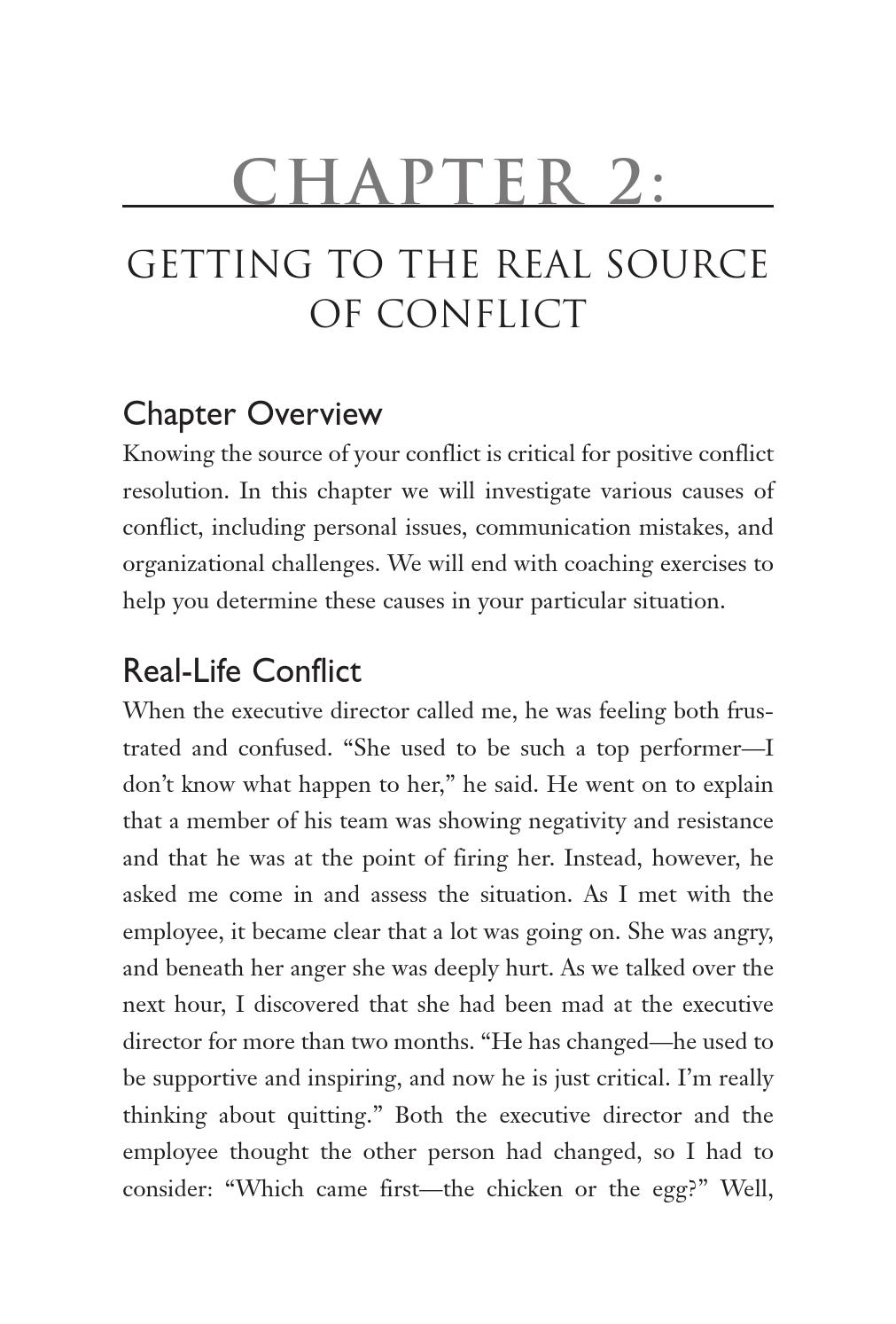 Simple Truths: The Top Performer's Guide to Conflict