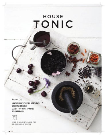 House Tonic - Issue 15 cover