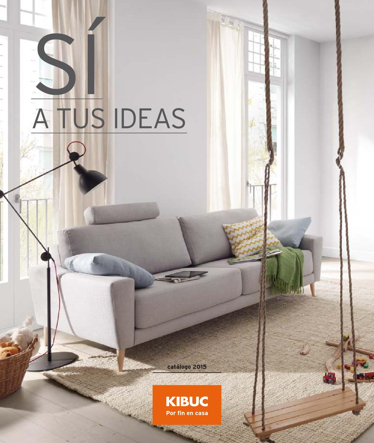 Catalogo 2014 15 by kibuc for Sofa cama 135 ancho