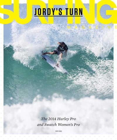 SURFING Magazine, ASP, 2014 Hurley / Swatch Pro Trestles cover