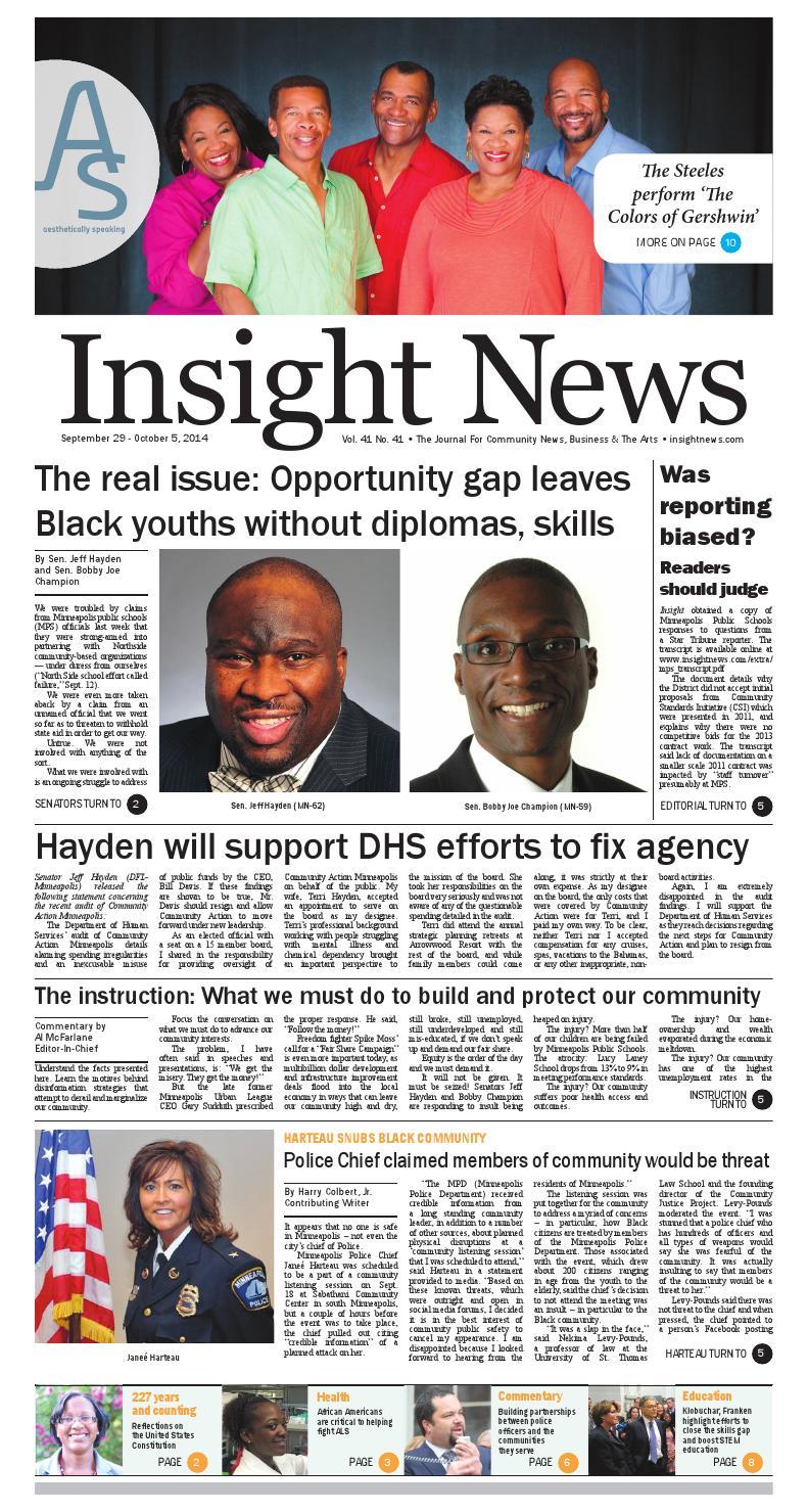 Insight News - Magazine cover