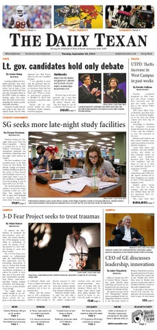 Issue for September 30, 2014