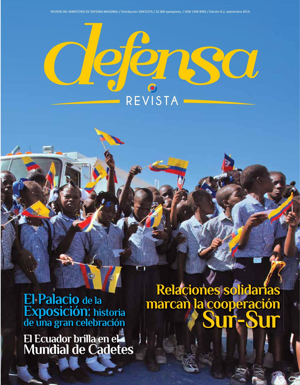 Revista defensa 002 by ministerio defensa for Ministerio de defenza