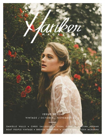 Hanker Magazine Issue Seven cover