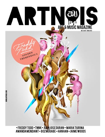 ARTNOIS Magazine Issue 12 cover