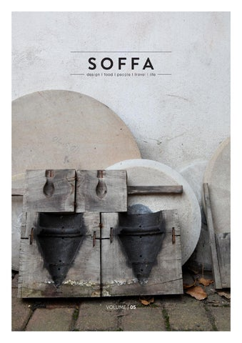 SOFFA magazine 05 / design travel food people home lifestyle cover