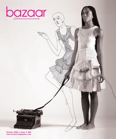 bazaar October 2014 cover