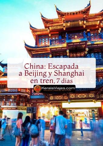 Mayoristas de Viajes China Beijing y Shanghai en Tren 7 días
