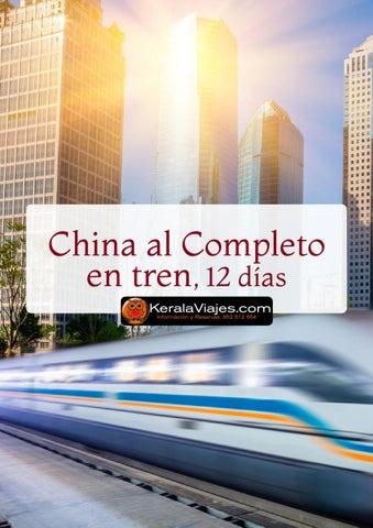Mayoristas de Viajes China al Completo en Tren 12 días