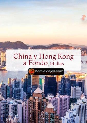 Mayoristas de Viajes China Hong Kong a Fondo 14 dias