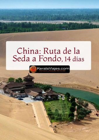 Mayoristas de Viajes Viajes a China: Ruta de la seda a Fondo 14 días