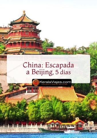 Mayoristas de Viajes Escapada a Beijing (Antigua Pekín) 5 días