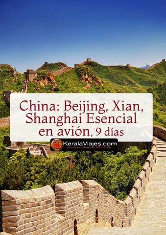 Mayoristas de Viajes Pekin Xian y Shanghai 9 días