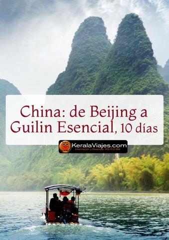 Mayoristas de Viajes Beijing Guilin Esencial 10 días