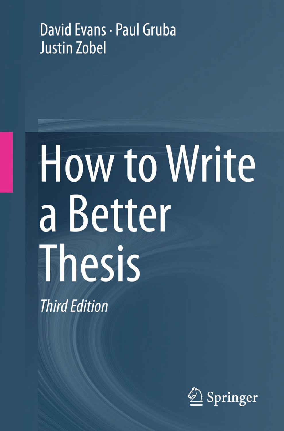 Thesis Vs Dissertation 3Rd 12